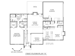 Large 1 Story House Plans Bed 1 Story House Plans With 4 Bedrooms