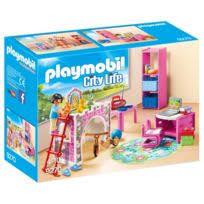 chambre de bébé playmobil playmobil 5334 chambre de bébé avec berceau pas cher achat