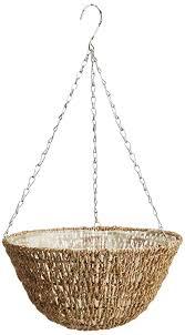 hanging planter basket best metal hanging baskets home ideal 29793