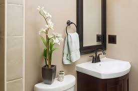Wonderful Bathroom Decoration Ideas With Wood Bathroom Cabinets Sink Bathrooms With Bronze Fixtures