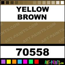 yellow brown plaka casein milk paints 70558 yellow brown paint