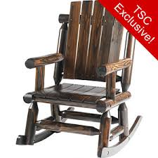 Red Rocking Chairs Red Shed Post U0026 Picket Log Rocker At Tractor Supply Co