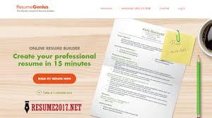 Resume Buolder Top 6 Resume Builders 2017 U2022