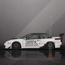 jdm subaru 2016 svxnations subaru svx widebody track car by tom mayer monkey