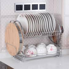 Kitchen Cabinet Dish Rack Compare Prices On Dish Rack Stainless Online Shopping Buy Low