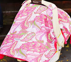 Pink Car Seat Canopy by Free Nursing Covers Nursing Pillows Baby Slings And Carseat