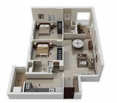 2 Bedroom Apartments Bedroom Medium 2 Bedroom Apartments 3d Painted Wood Wall Mirrors