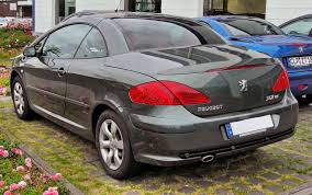peugeot 307 cc file peugeot 307 cc facelift 20090620 rear jpg wikimedia commons