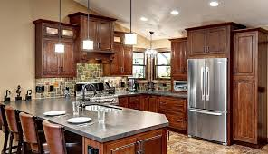 kitchen color schemes with cherry cabinets trending color it bold in 2015