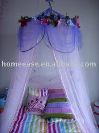 Purple Bed Canopy Princess Mosquito Net Kids Flower Bed Canopy Buy Mosquito Net