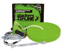 slackers zipline falcon series kit swingsetmall com
