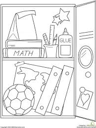 coloring page school printable fall coloring pages