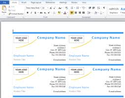 business card template for word 2010 microsoft office business