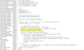 excel vba not splitting named ranges rows when using page break in