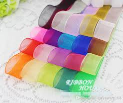 cloth ribbon 2018 2cm wide transparent decorative ribbons shadai ribbon diy