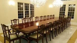 large dining room table seats 20 alliancemv com