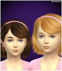 childs hairstyles sims 4 simista ela 4g hairstyle retextured sims 4 hairs sims ideas