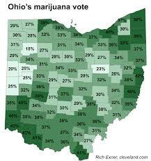 Map Of Counties In Ohio How The Issue 3 Marijuana Vote Lost Everywhere In Ohio But In