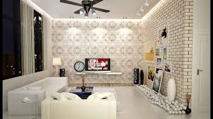 Latest Wallpaper Designs For Living Room Home Design Ideas - Wallpaper interior design ideas