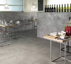 matt floor and wall tile porcelain stoneware silver with graffito