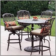 desain foto high top patio table set images about desain patio review hi top