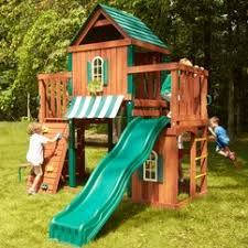 Swing Set For Backyard by Perfect Ideas Backyard Play Sets Sweet Backyard Wood Swing Set