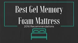 Best Gel Foam Mattress Topper Best Gel Memory Foam Mattress Memory Foam Doctor