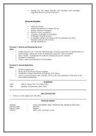 Resume Setup Examples by Download How To Set Up Resume Haadyaooverbayresort Com