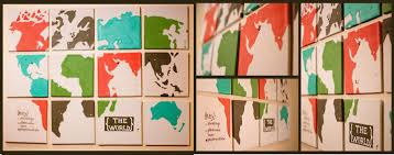 World Map Bulletin Board by The World On Your Walls Design In Living Spaces