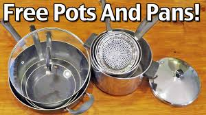 my free pots and pans youtube
