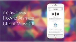 layout animation ios code hangout 7 uitableview with swift series pt 12 animate table