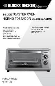 Black And Decker Spacemaker Toaster Oven Parts Black Decker 4 Slice Toaster Oven Stainless Steel To1430s