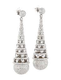 Chandelier Earrings Earrings 7 15ctw Diamond Chandelier Earrings Earrings Fje20889 The