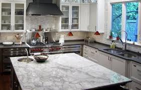 Marble Kitchen Countertops Which Granite Looks Like White Carrara Marble