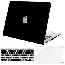 amazon black friday mac book air amazon com kuzy air 13 inch black rubberized hard case for