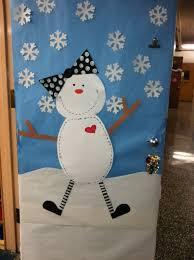 snowman door decorations marvelous winter classroom door decorations with 40 winter