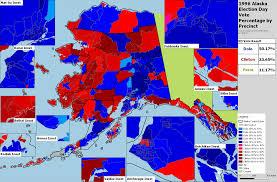 2016 Presidential Election Map Historic Alaska Presidential Results Megathread