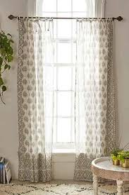 Plum And Bow Curtains And Bow Elysia Foil Ivory Window Curtain