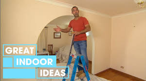 diy easy archway removal indoor great home ideas youtube