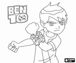ben 10 child protagonist fantastic adventures coloring