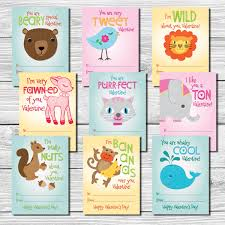 kids valentines day cards kids s day cards set of 9 punny sayings school
