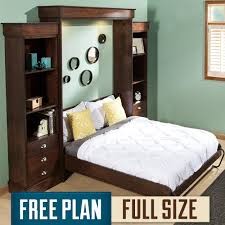 Queen Murphy Bed Plans Free Murphy Bed Plans Fullsize Deluxe Murphy Bed Plan A Murphy Bed