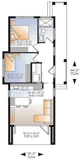 Tiny House 3 Bedrooms W1906 Modern 631 Sq Ft Tiny House Plan 2 To 3 Bedrooms 9