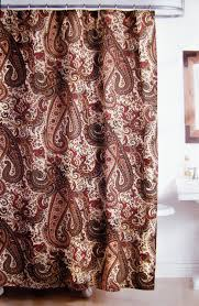 amazon com ralph lauren bridgette paisley fabric shower curtain