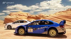 subaru rally racing gt sport subaru sti rally race replay youtube