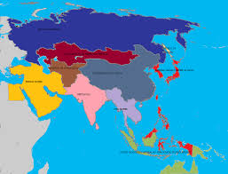 Maps Of Asia by Alternate History Map Of Asia 2 By Gamekiller12 On Deviantart