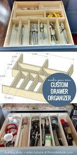 how to organize kitchen drawers diy remodelaholic utensil drawer organizer adjustable and