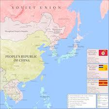 Map Of Taiwan East Asia 1976 Divided Japan Thai Civil War Sino Soviet War