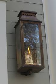 electric lights that look like gas lanterns the old village lantern gas or electric the charleston