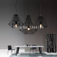 diamond chandelier wing royal scandinavian retro bar iron l modern minimalist